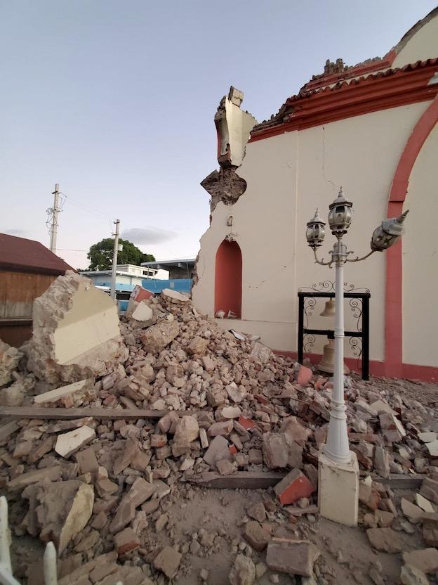 Puerto Rico earthquake damage