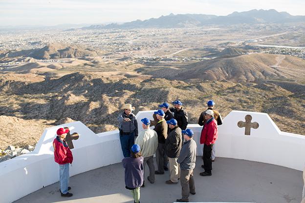 Pastor immersion trip to El Paso, Texas