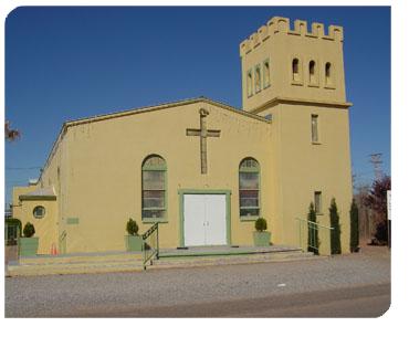 Texas parish in the diocese of El Paso