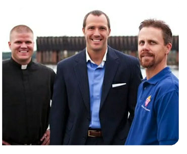 """Catholic Extension supports seminarians through our """"Building Leaders"""" funding"""