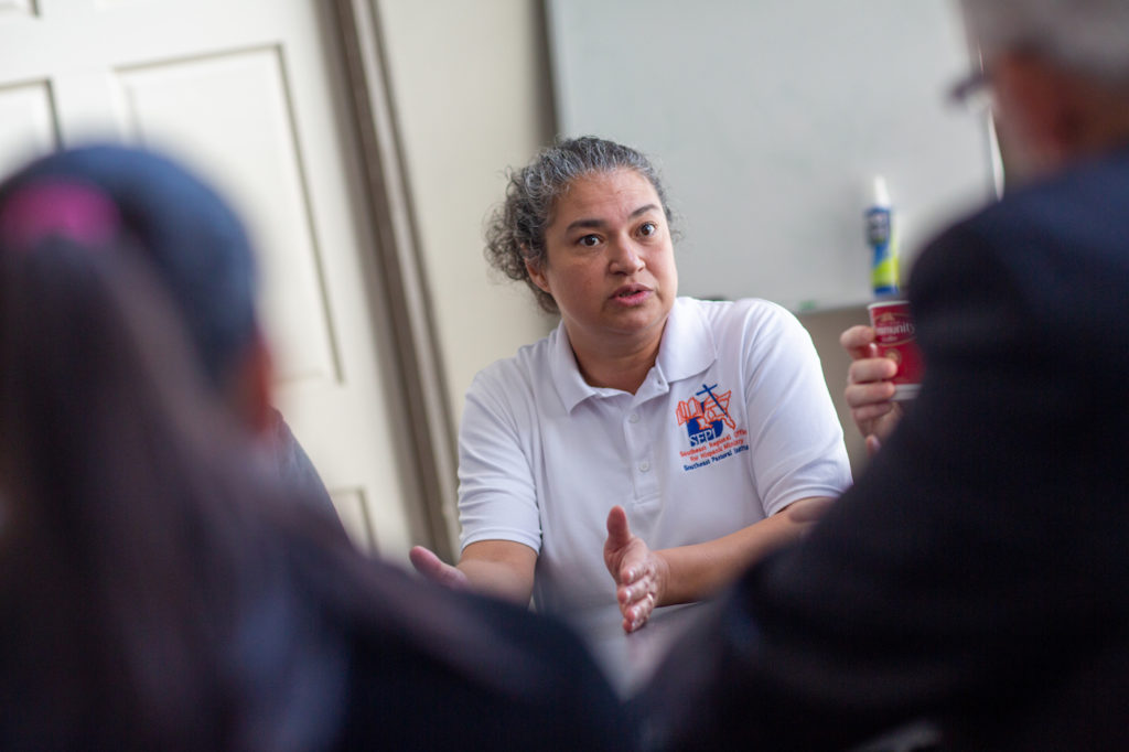 Dr Villar leads a program for immigrant mental health in Mississippi