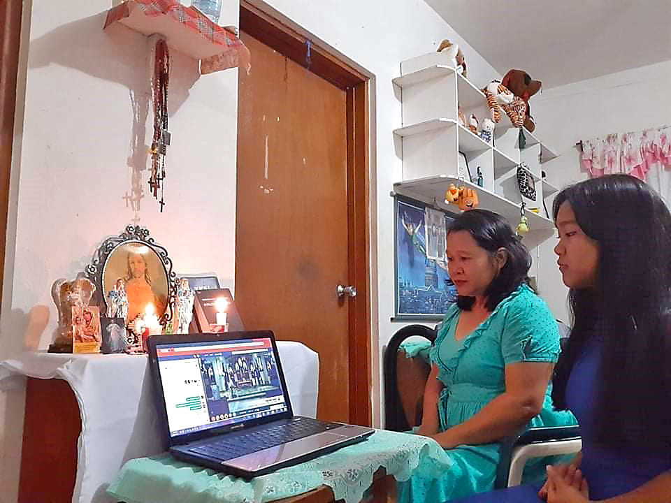 Livestream Mass from Home