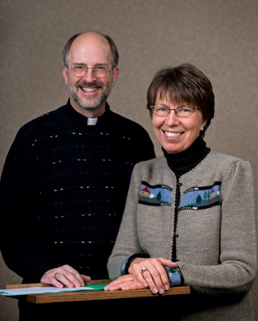 Fr. Ken Schmidt and Sharon Froom