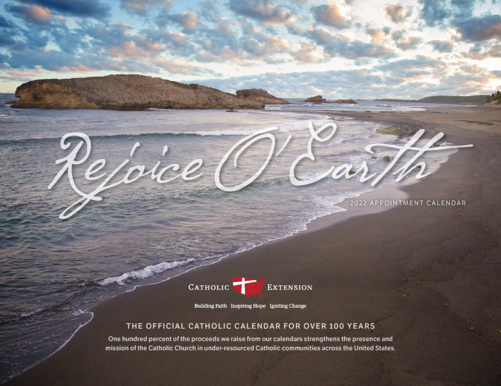 Catholic Church Calendar 2022.2022 Catholic Calendar Catholic Extension