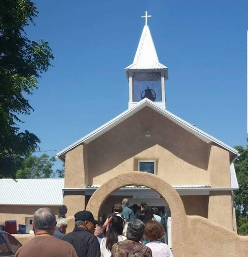 Our Lady of Sorrow adobe church